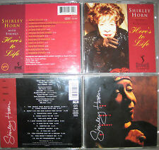 RARE 2 CD Shirley Horn – Here's to life + you won 't forget me Verve Miles Davis