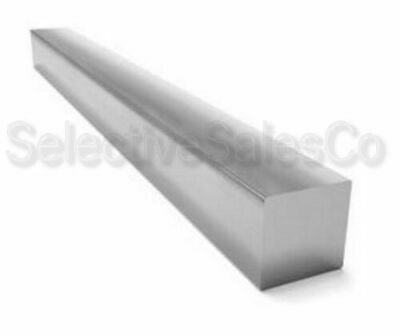 "Stainless Steel Square Bar Stock Type 304 1/"" x 90/"" Long"