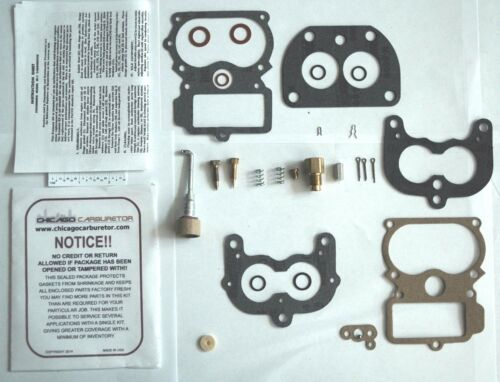 1935-42 PACKARD CARBURETOR KIT STROMBERG EE-14 EE-16 MODEL 2 BARREL ETHANOL TOL