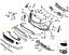 NEW-GENUINE-MERCEDES-BENZ-MB-GLA-CLASS-X156-FRONT-BUMPER-CHROME-SURROUND thumbnail 2