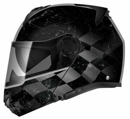 Torc T27B Avenger DOT ECE Bluetooth Full Face Modular Street Motorcycle Helmet