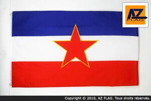 YUGOSLAVIA FLAG 3/' x 5/' BANNER 3x5 ft High qua YUGOSLAVIAN FLAGS 90 x 150 cm