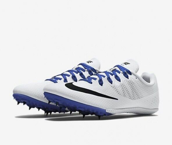Nike Zoom Rival S 8 Men Spikes Track Shoes 806554 100 White Comfortable