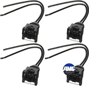 Set of 4 Injector Connector Pigtail for Ford Chevy GM ...