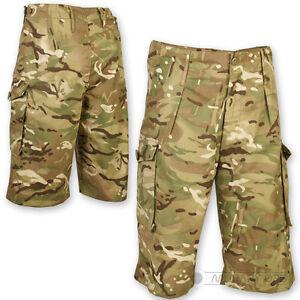 BRITISH-ARMY-ISSUE-SHORTS-GENUINE-MTP-MULTICAM-SURPLUS-SOLDIER-95-STYLE