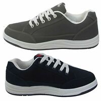MENS CANVAS PUMPS PLIMSOLLS FLAT TRAINERS CASUAL SHOES UK SIZE 6 - 12