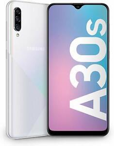 "Samsung Galaxy A30s Bianco Display 6.4"", 64 GB Esp., RAM 4 GB, Batteria 4000 mAh"