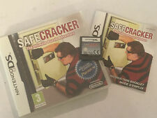 NINTENDO DS DSL DSi GAME SAFECRACKER THE ULTIMATE PUZZLE ADVENTURE PAL COMPLETE