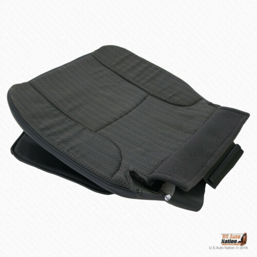 """2002 2003 Dodge Ram 1500 ST Driver Bottom Cloth Replacement Seat Cover /""""Dk Gray/"""""""