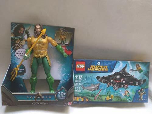 LEGO DC Superhjältar Aquaman svkonst Manta Strike 76095 och Aquaman Trident Strike