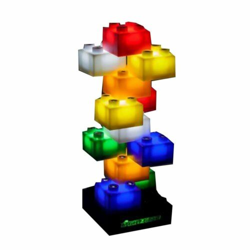 Light Stax LED Light-Up Building Blocks Starter Set 12 Pieces