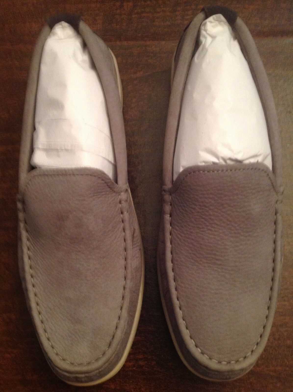 Cole Haan Men's Boothbay Gray Nubuck(Leather) Loafers  Size: 11.5M   New in Box