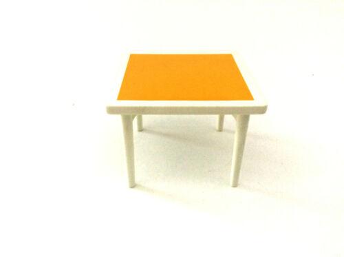 Playmobil Nostalgie Rosa Puppenhaus 1900 5312 Kinderzimmer Tisch gelb