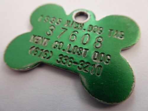 59 VARIOUS US AMERICA DOG TAX LICENSE TAGS ALL PHOTOGRAPHED *TAKE YOUR PICK* GMM