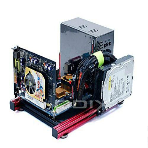 ITX Computer Open Case DIY Aluminum Frame support Graphics Card