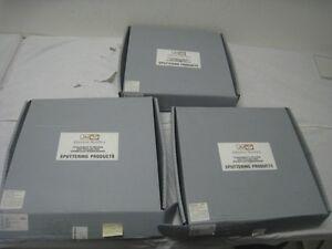 3-New-Johnson-Matthey-Sputtering-Target-59-Al-2-Si-PN-037-0173-23