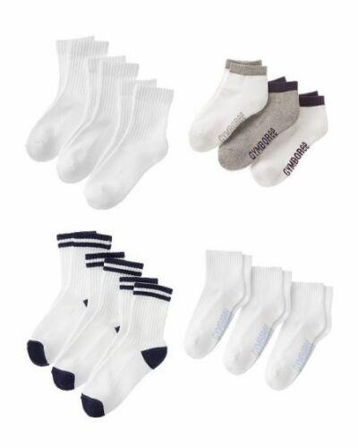 NWT Gymboree Boys Sport Sock 3-Pack soft /& durable socks Multiple Style U-PICK