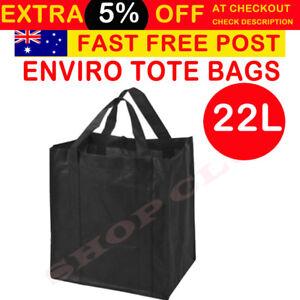 0c04e038df7 Bulk Enviro Reusable Shopping Bags Tote Bag Black Eco Friendly Non ...