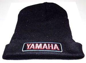 Black Yamaha Beanie For Men