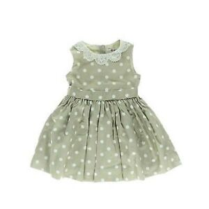 a40d1fcbb Neiman Marcus Jason Wu Target Baby Toddler Girl Taupe Polka Dot Lace ...