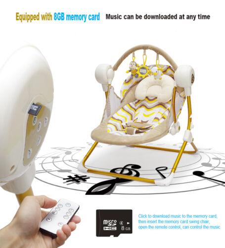 Baby Sleeper Bassinet Cradle Baby Crib Bed Nursery Basket 8gb Bluetooth USB