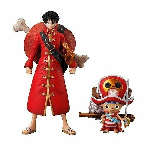 in stock Luffy /& Chopper Bandai Super One Piece Styling Film Z special 1st