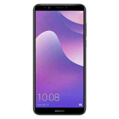 Sim Free Huawei Y7 5.99 Inch LCD 16GB 13MP 2GB Ram 4G Mobile Phone - Black