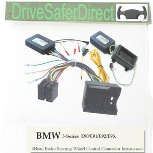 Carav 11-052-4-7 Autorradio Radio Set para BMW 3er E90 1er E87 Din Fakra Iso