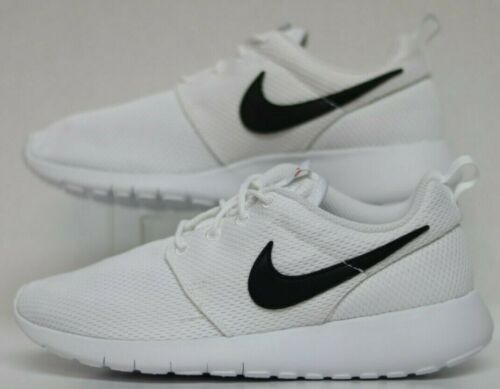 GS White//Black-Safety Orange 599728-101 Youth Size Nike Roshe One