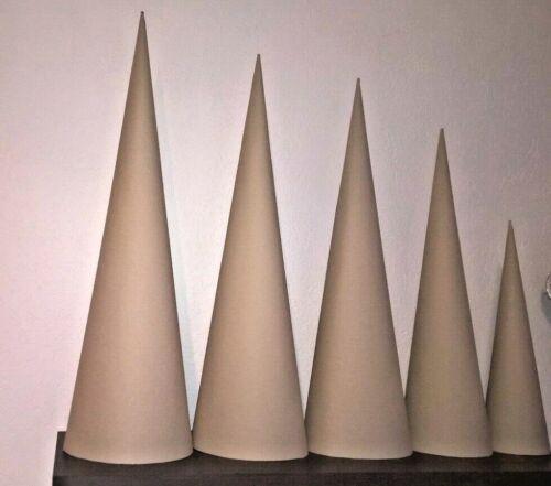 Schultüten Rohling Zuckertüte 70 cm Bastelschultüte sehr stabil rund Handarbeit