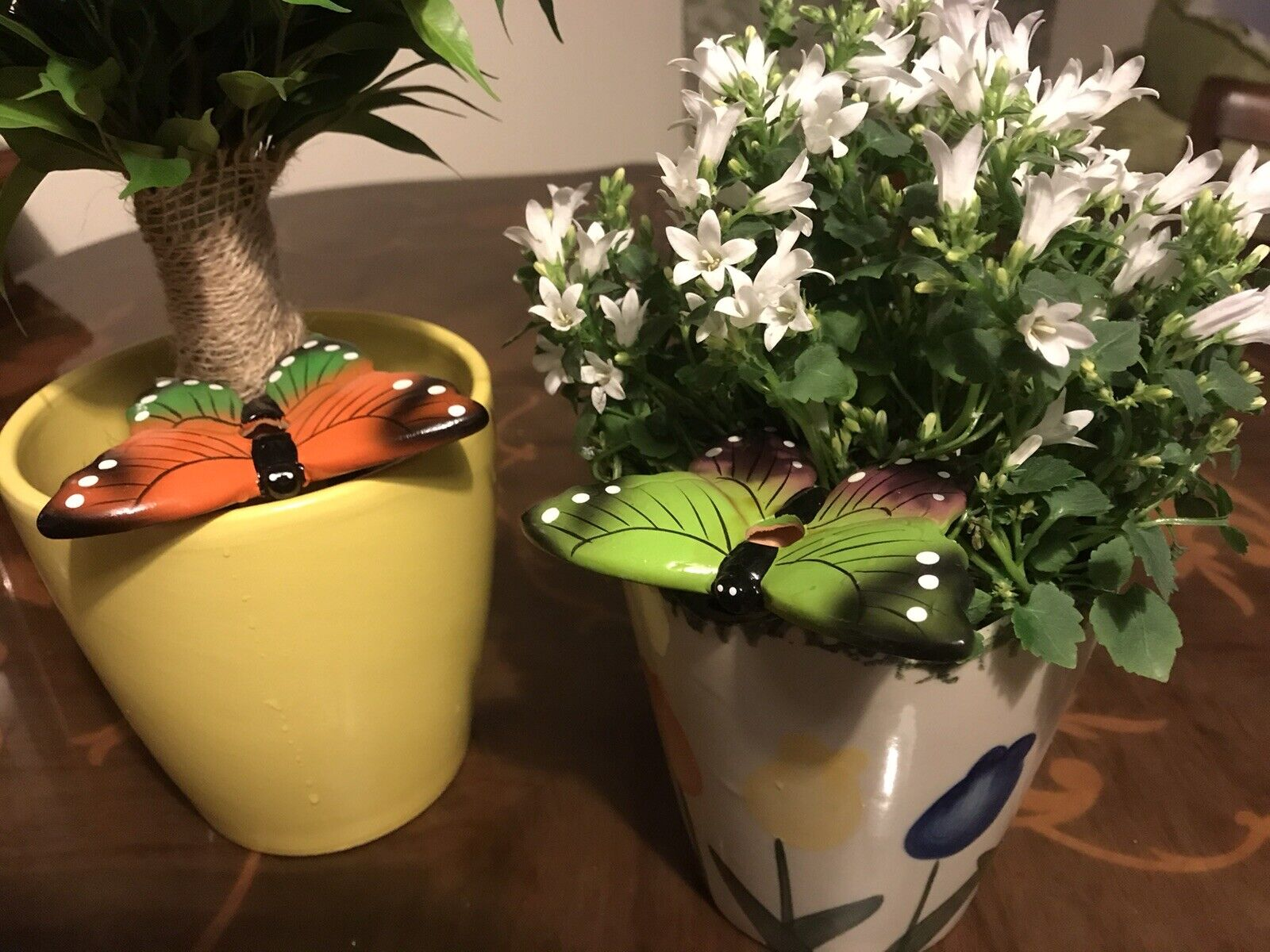 Plant Pot Butterfly Waterers - Pack Of Two NEW and Boxed