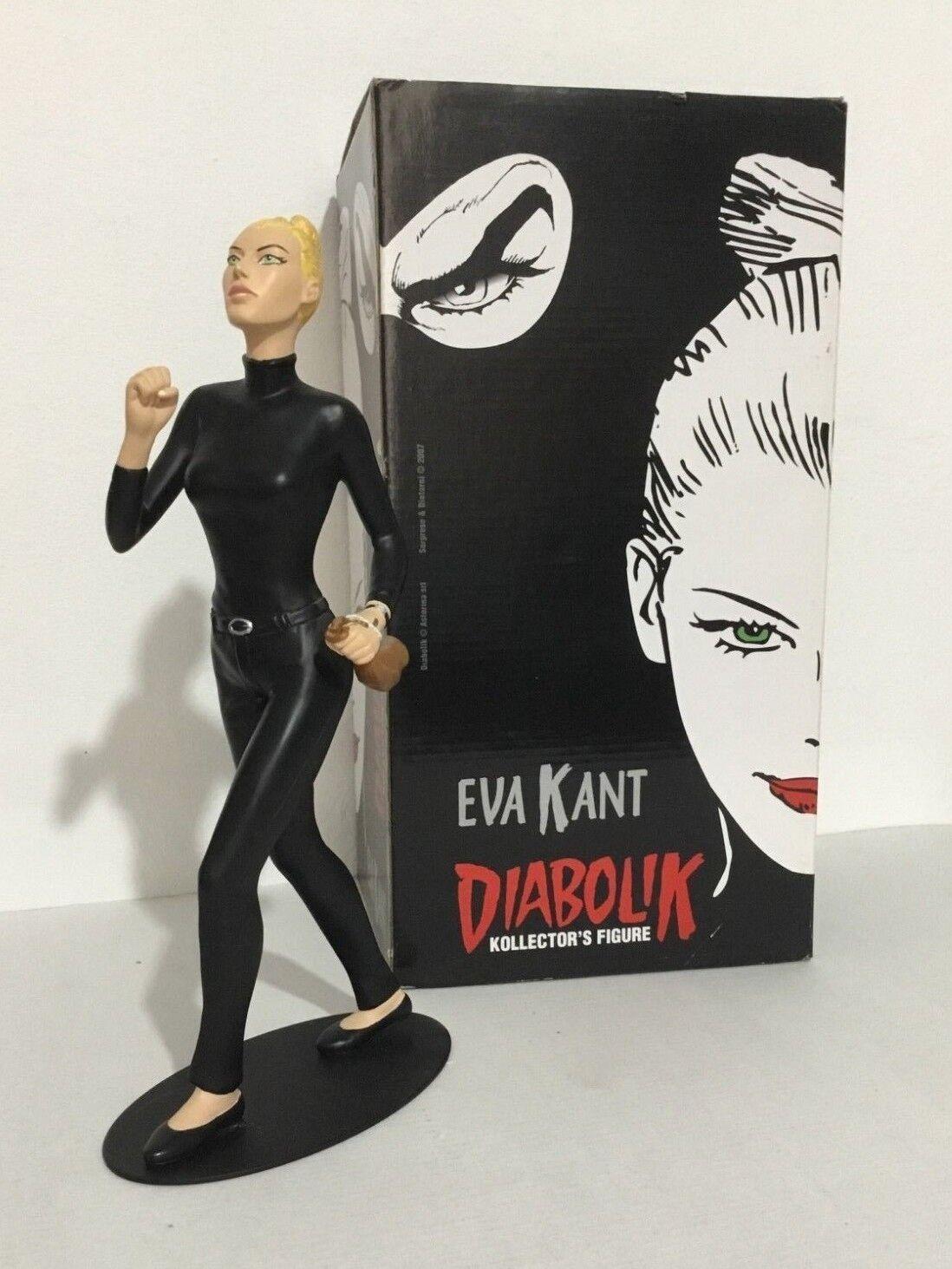 STATUA EVA KANT IN FUGA Diabolik Kollector's Figure idea regalo  29cm