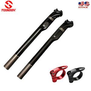 MTB-MTN-Road-Bike-Carbon-Fiber-Seatpost-27-2-30-8-31-6mm-versus-Seatpost-Clamp