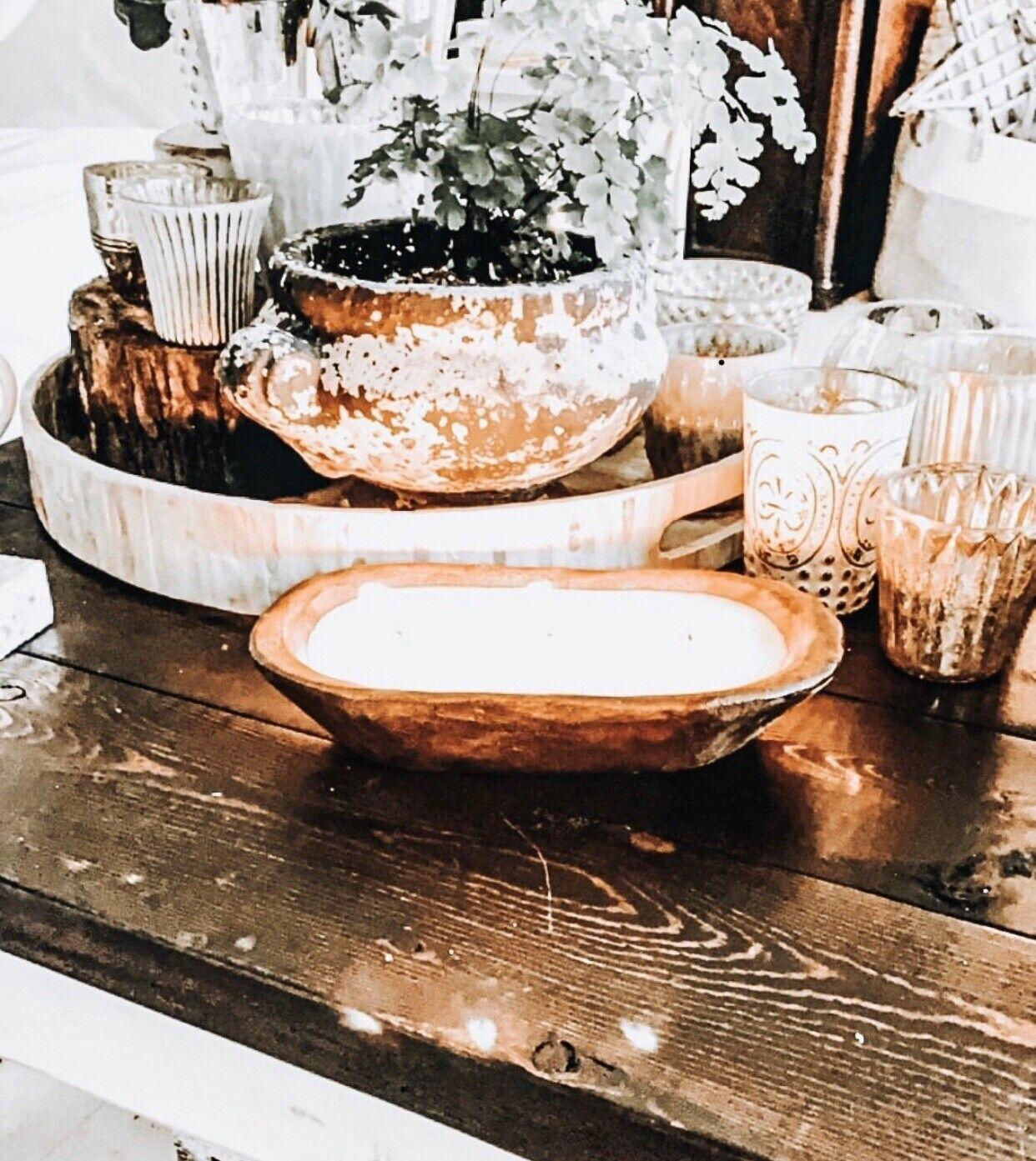 dough bowl candle
