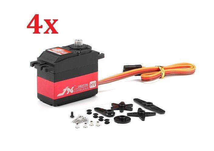 4x 4x 4x JX Servo PDI-HV5932MG 30KG gree Torque 180º High Voltage Digital Servo RC 087ba7