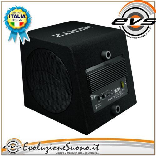 HERTZ DBA 200 Subwoofer Amplificato 20cm Gar Italia Omaggio 2 radiatori pass