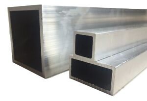 Details about Aluminium Rectangular / Square Tube/Box Section Length 500 mm  - 6000 mm