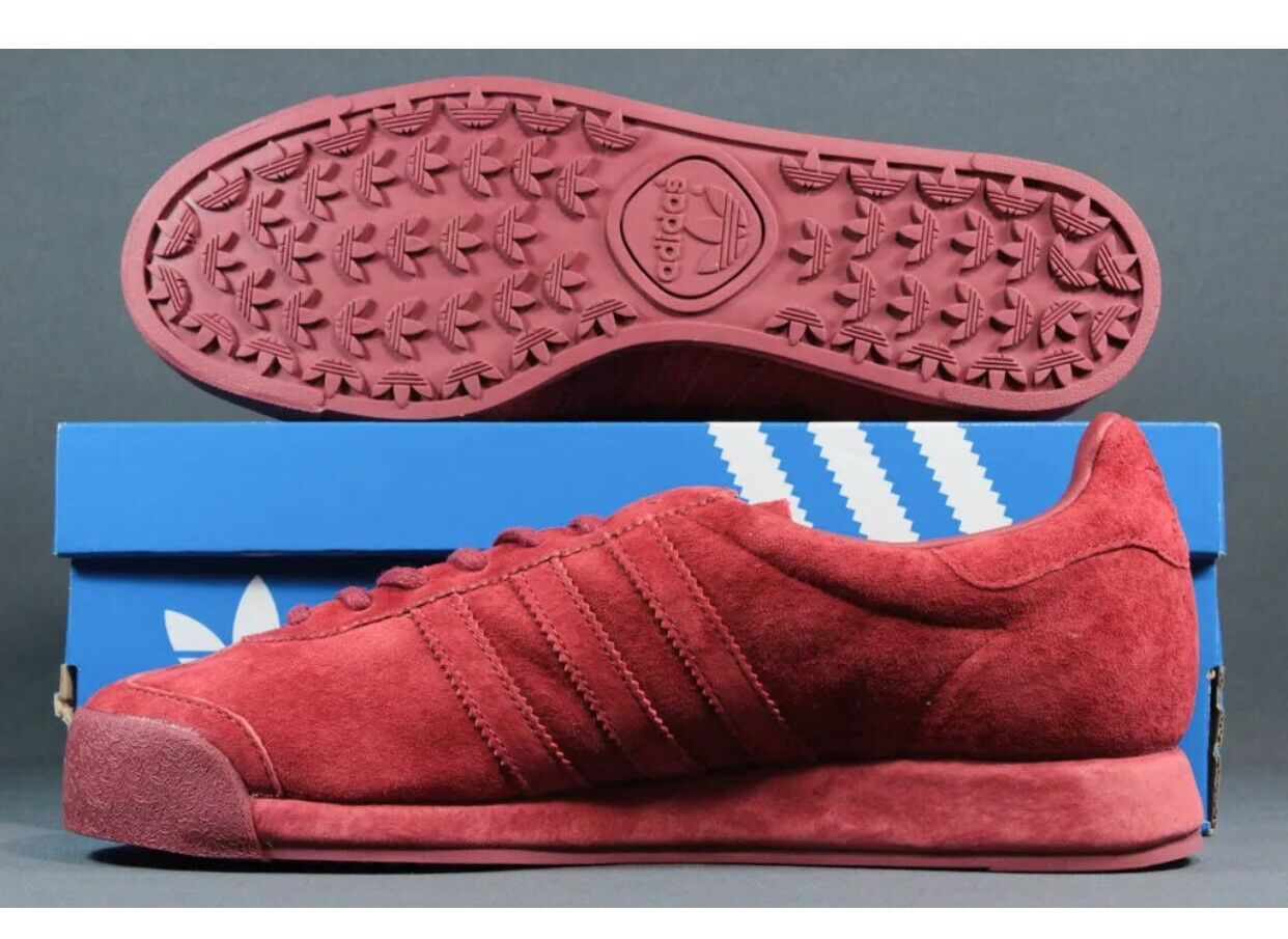 Il mistero di vintage pelle scamosciata adidas samoa vintage di rossa b39016 uomini sz 12 8255d2