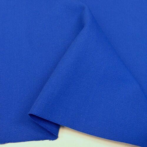 blau Baumwoll-Stoff kräftiges Canvas Segeltuch Polsterbezugsstoff von Tolko