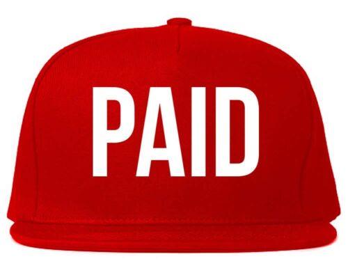 Kings Of NY PAID Printed Snapback Cap Hat Money Cash New York NYC