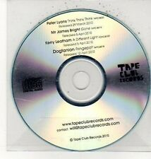 (DD46) Peter Lyons/Mr James Bright, 4 track sampler - 2010 DJ CD