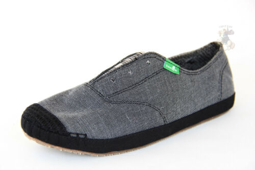 autentico donna On Slip Sanuk zecca Carboncino nuovo 100 Swf10075 Runaround di Shoes I8nwnWCqZ
