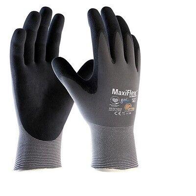 MaxiFlex Ultimate 42-874 Nitrile Foam Palm Coated Work Gloves Super Comfort