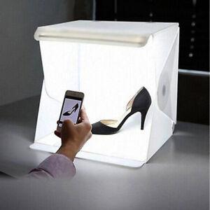 Portable Photo Studio Lighting Mini Box Photography Backdrop LED Light Room Tent 711005748230