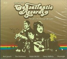 THE STORY OF TRANSATLANTIC RECORDS - CROSS STYLE MIX 42-TRK COMP SEALED 2-CD SET