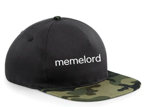 Snapback Hat Cap dégénèrent Lord Funny memelord Cool Adjustable