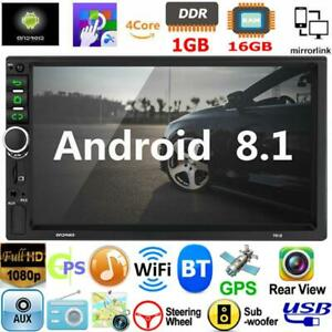 Android-8-1-Car-Stereo-GPS-Navigation-Radio-Player-Double-2Din-WiFi-7-034-Quad-Core