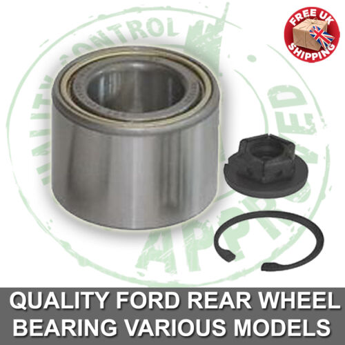 Rear Wheel Bearing Kit  Brand New Ford Fiesta 1.4 MK6 2002-2009 1128