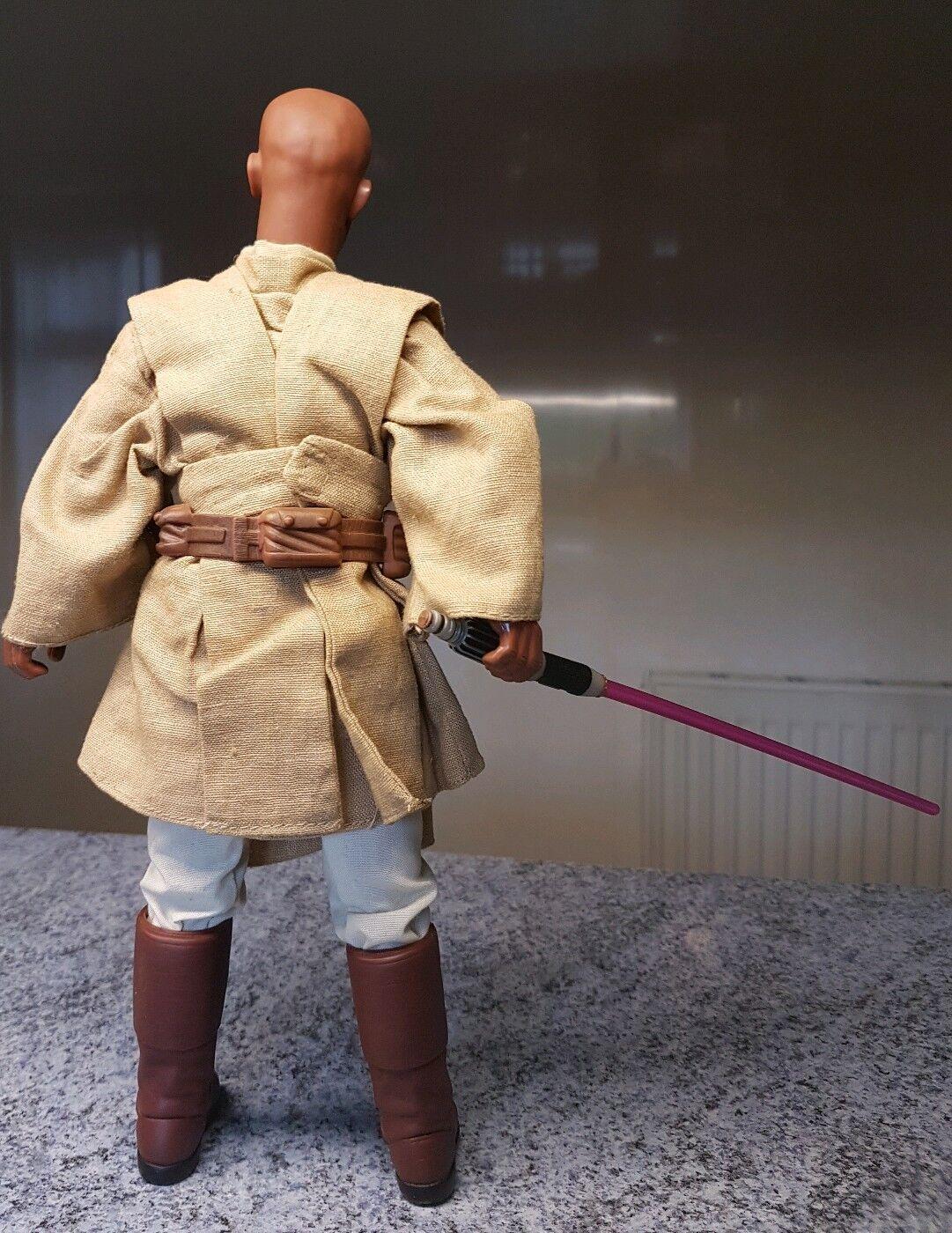 1 6 SCALA STAR WARS EPISODIO II L'attacco dei cloni Mace Windu 2002 Figura 12