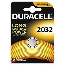 Confezione 1 Batteria Pila Duracell 2032 CR2032 DL2032 3V Litio Bottone hsb